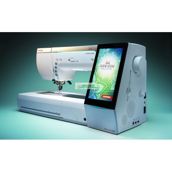 Janome Horizon Memory Craft 40 For SALE Classy Computer Sewing Machine Embroidery