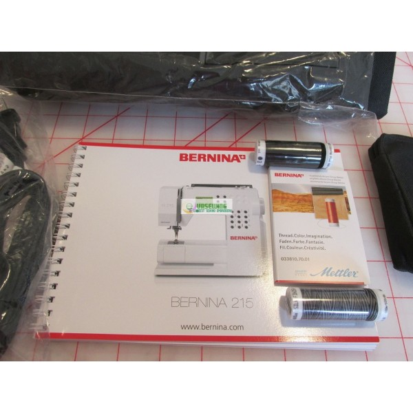 Bernina 40 Sewing Machine For SALE Awesome Bernina 215 Sewing Machine Reviews