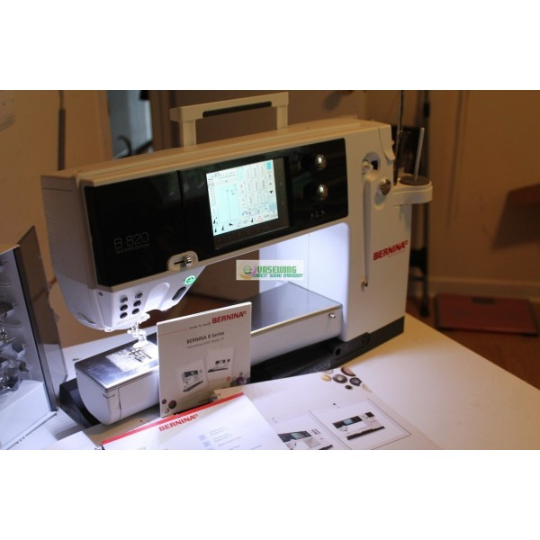 BERNINA 40 QE Sewing And Quilting Machine For Sale Fascinating Bernina 820 Sewing Machine Review