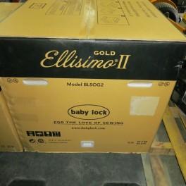 Baby Lock Ellisimo II Gold BLSOG22 Embroidery Sewing Machine