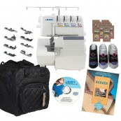 Juki MO-735 Thread Serger Kit Mechanical Sewing Machine