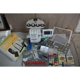 Janome MB4 Multi Needle Embroidery Machine